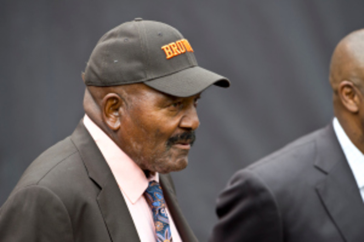 The Browns are expected to hire Jim Brown on Wednesday into an unspecified role. (Jason Miller/Getty Images)