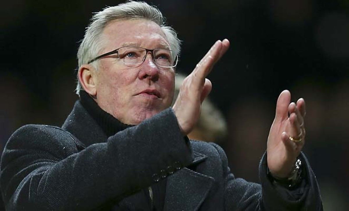 Sir Alex Ferguson and Manchester United lead the Premier League and are in the Champions League round of 16.