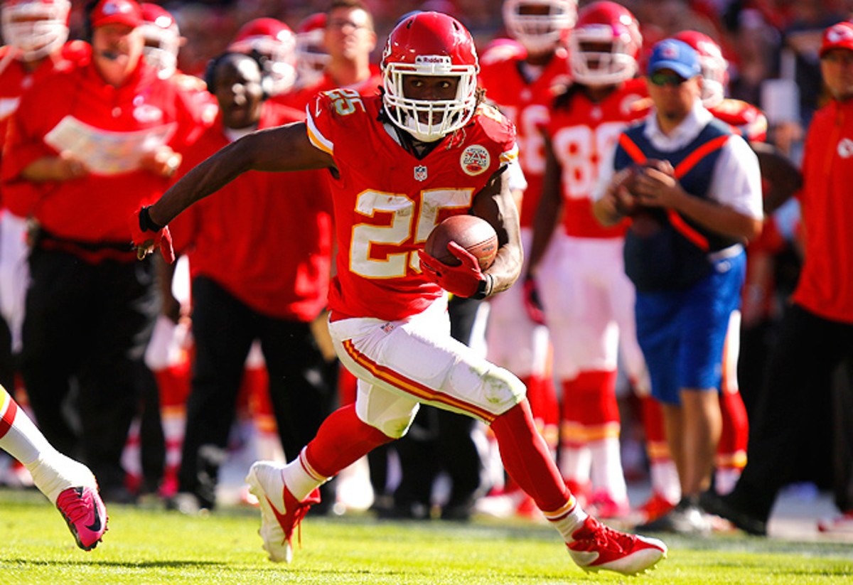 Jamaal Charles runs straight through defenses week after week, and he won't be stopped anytime soon.