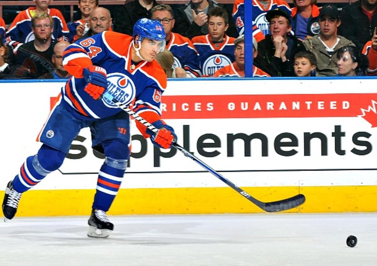 Nail Yakupov of the Edmonton Oilers