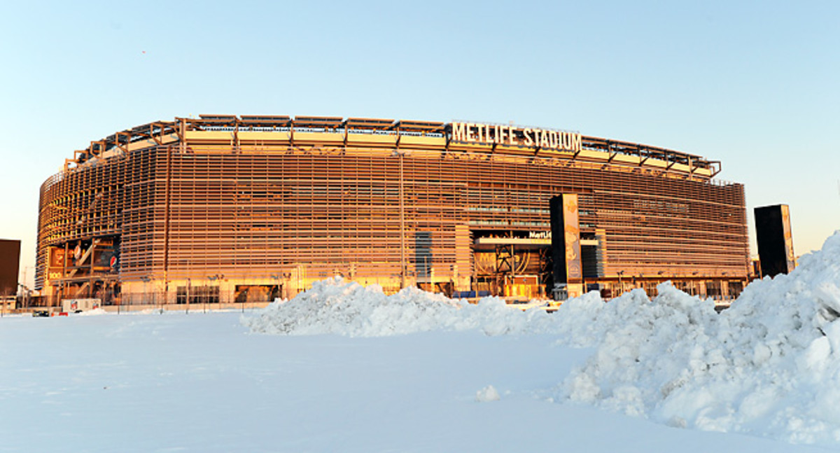 Frosty winter weather is a concern with the Super Bowl coming to New York in February.