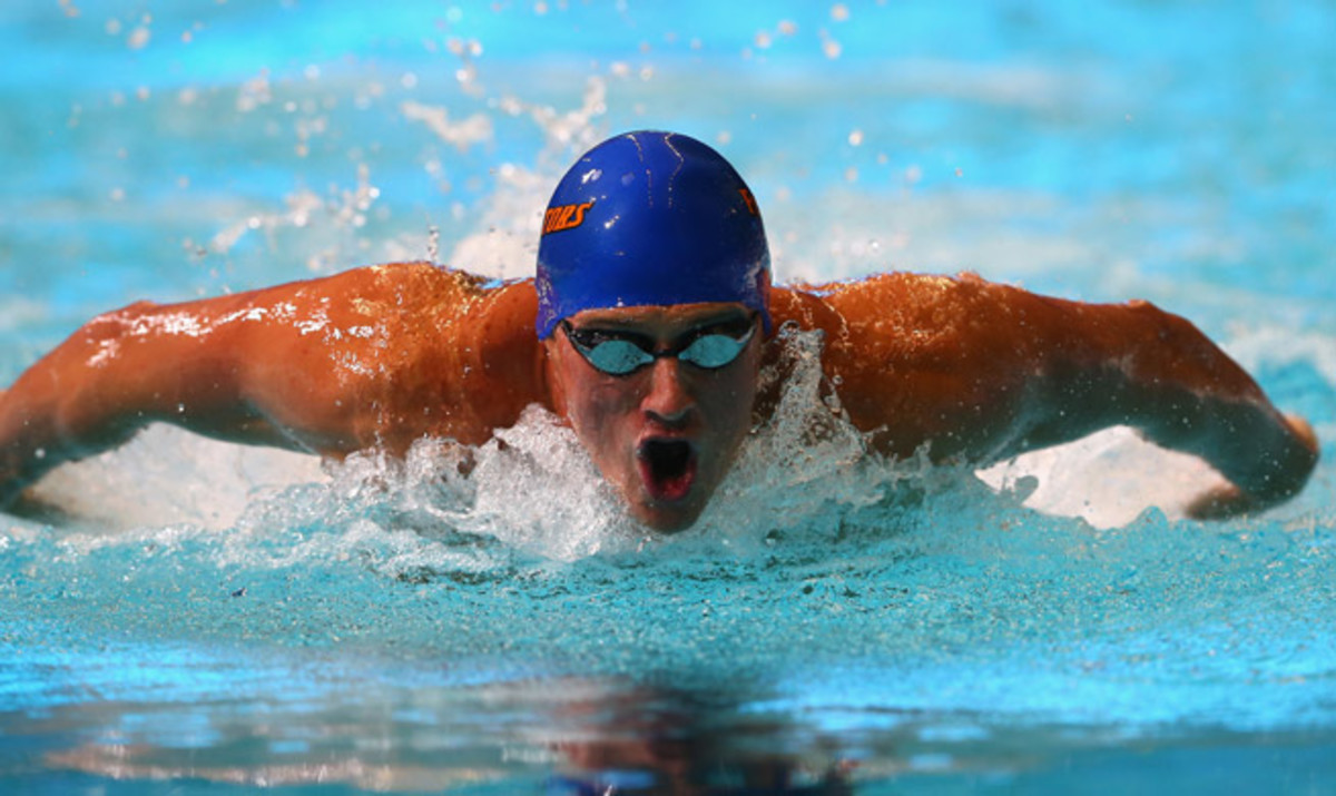 Ryan Lochte's big focus at world championships will be the 200-meter backstroke.