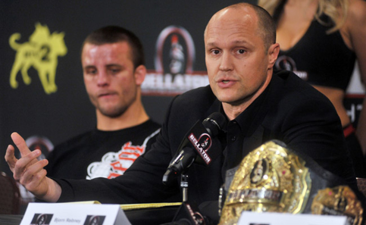 Bellator CEO Bjorn Rebney will watch his promotion debut on Spike TV on Thursday night.