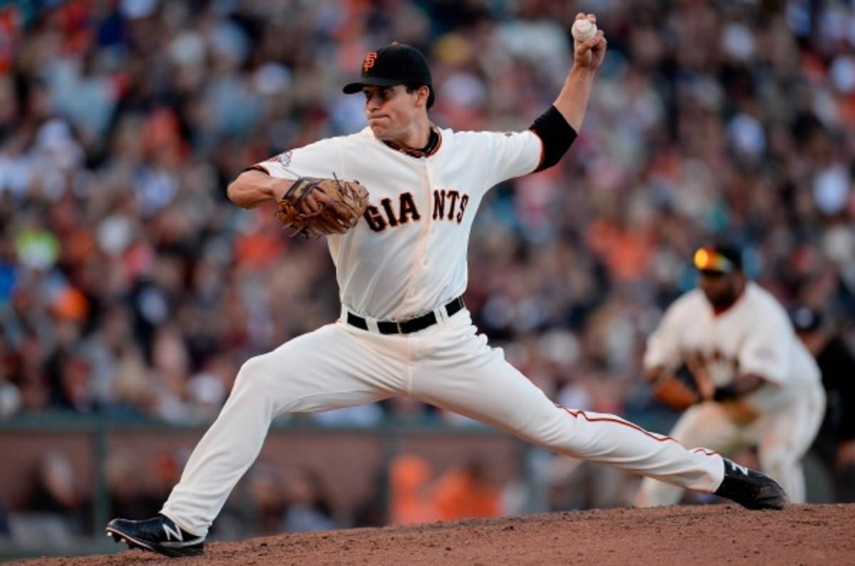Javier Lopez was --- last season for the Giants. (Thearon W. Henderson/MLB/Getty)