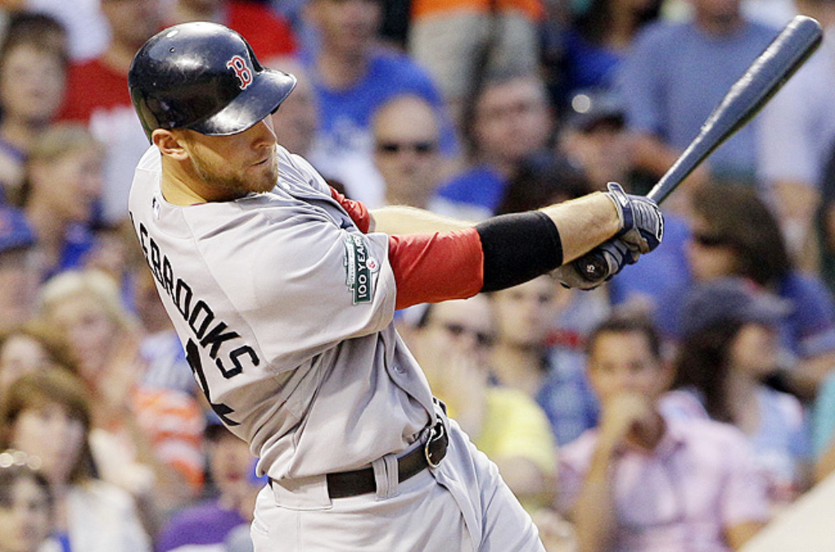 Middlebrooks hit .192 with nine home runs and 25 RBIs in 53 games with the Red Sox earlier this year.