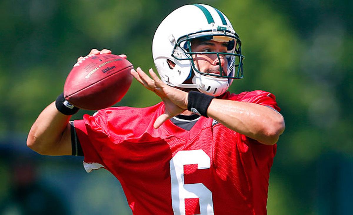 New York Jets coach Rex Ryan says QB Mark Sanchez looks OK
