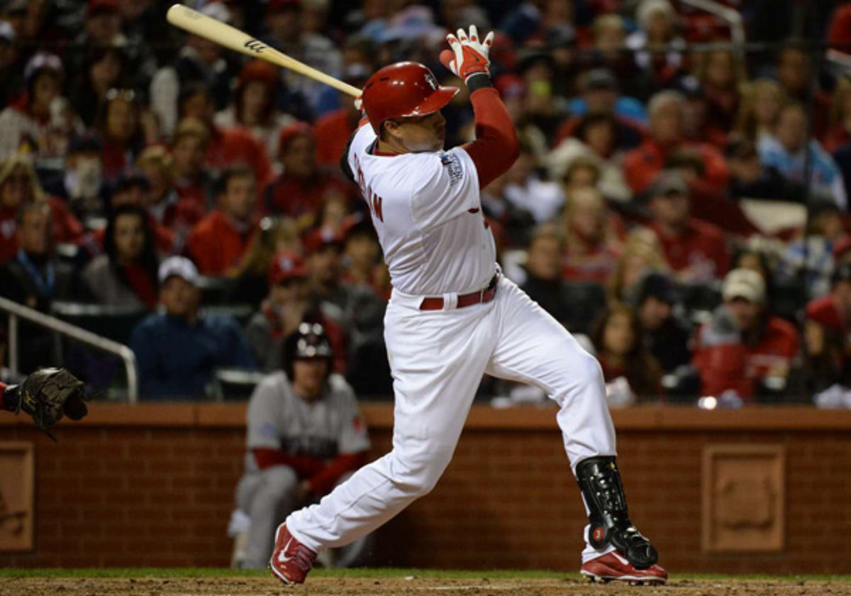 Carlos Beltran and the Yankees agreed to a three-year, $45 million deal. (David E. Klutho/SI)