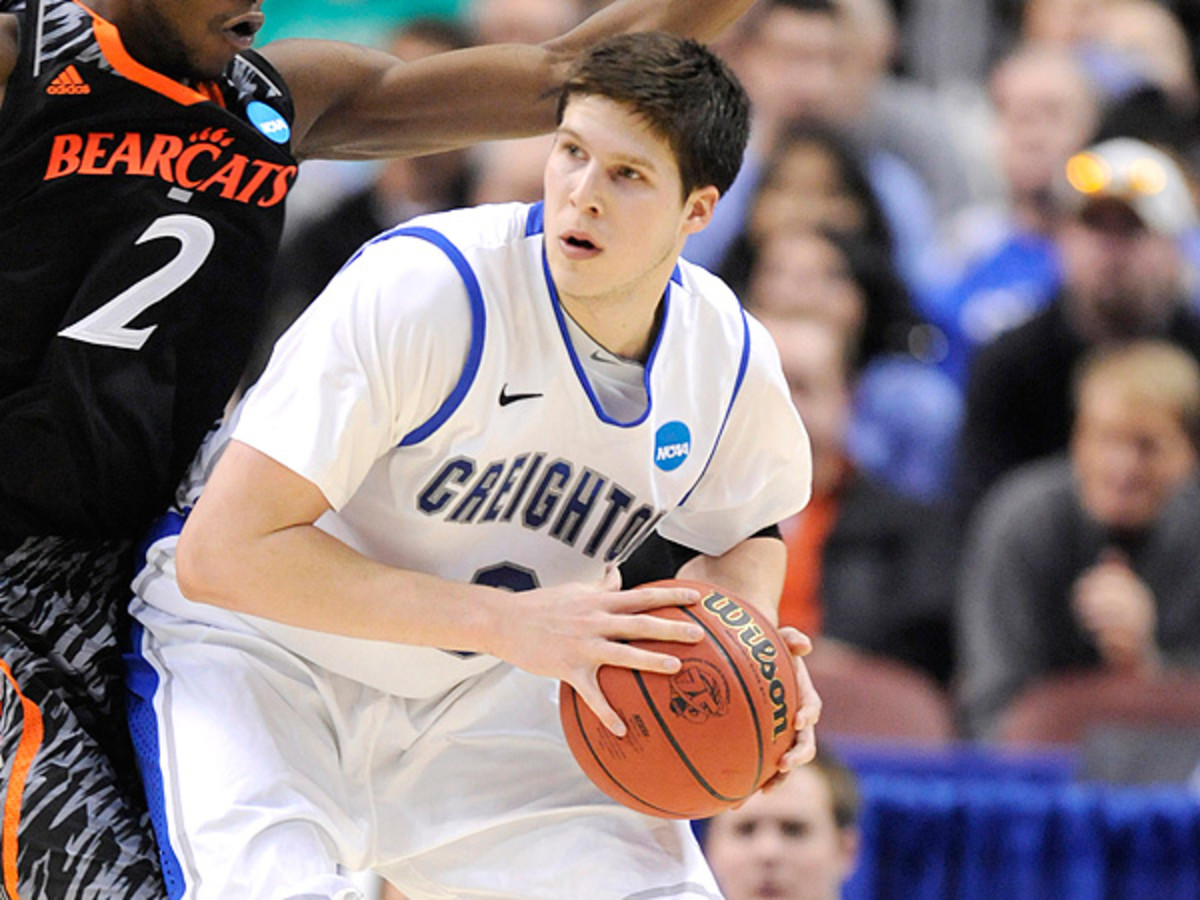 Doug McDermott's Creighton Bluejays have been one of the biggest benefactors of conference realignment. (Mitchell Layton/Getty Images)