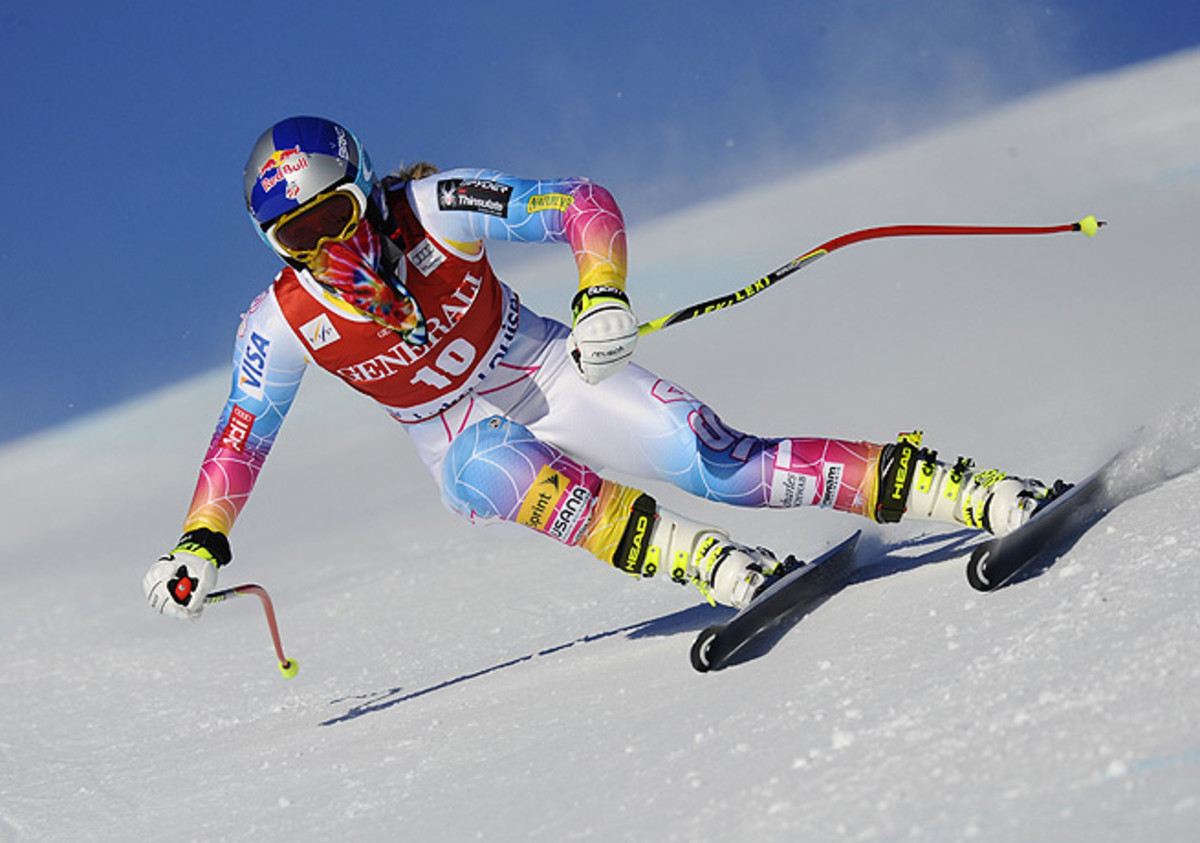 Lindsey Vonn is poised to compete in her first race since a serious crash last February.