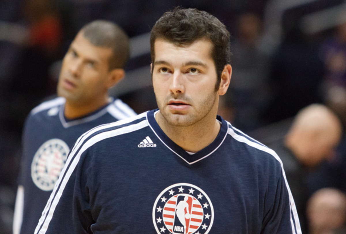 After an active rookie season, Josh Harrellson played sparingly in the 2012-2013 campaign.