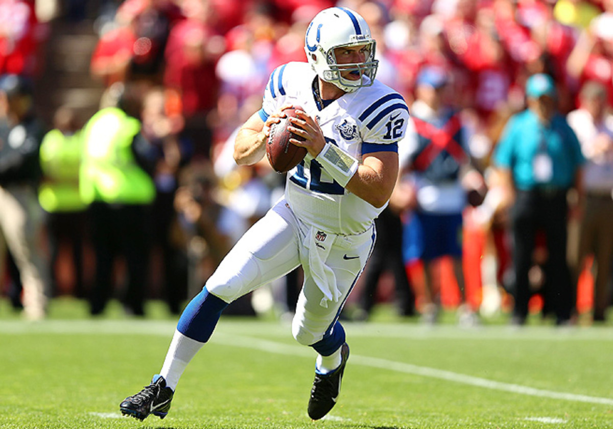 After an unimpressive game in San Francisco, Andrew Luck will step it up this week against the Jaguars.