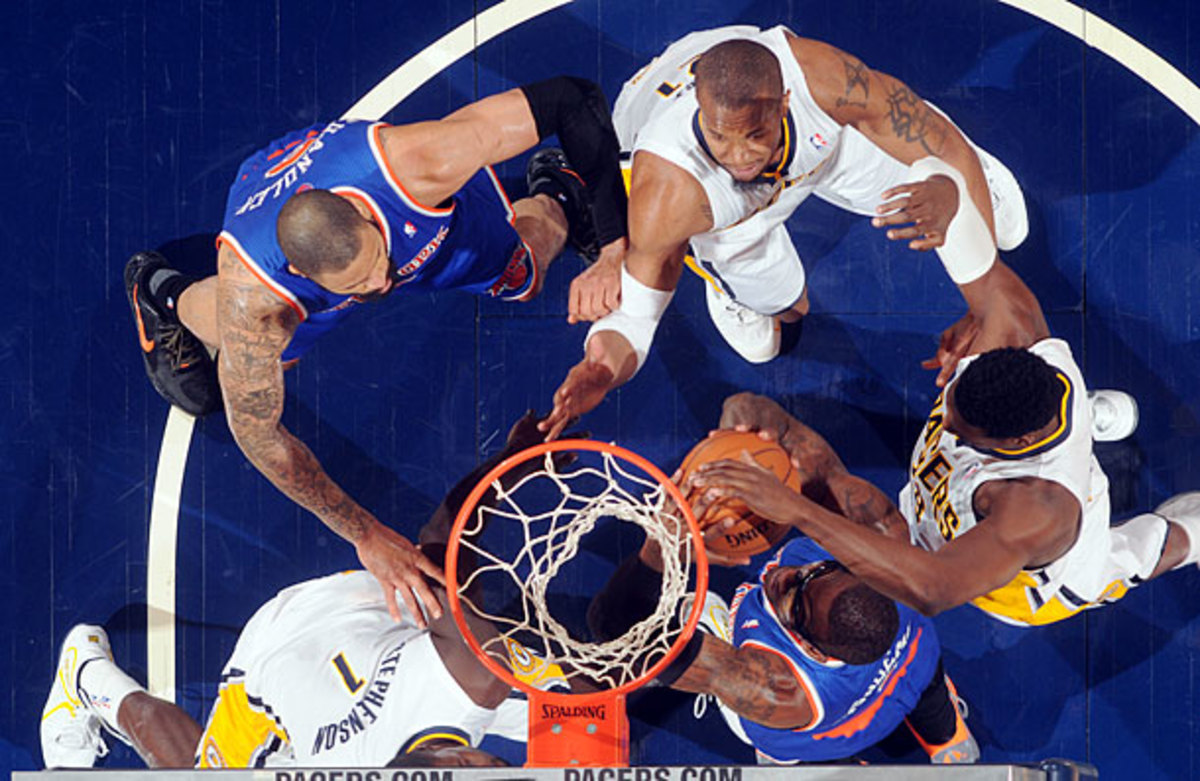 Pacers and Knicks