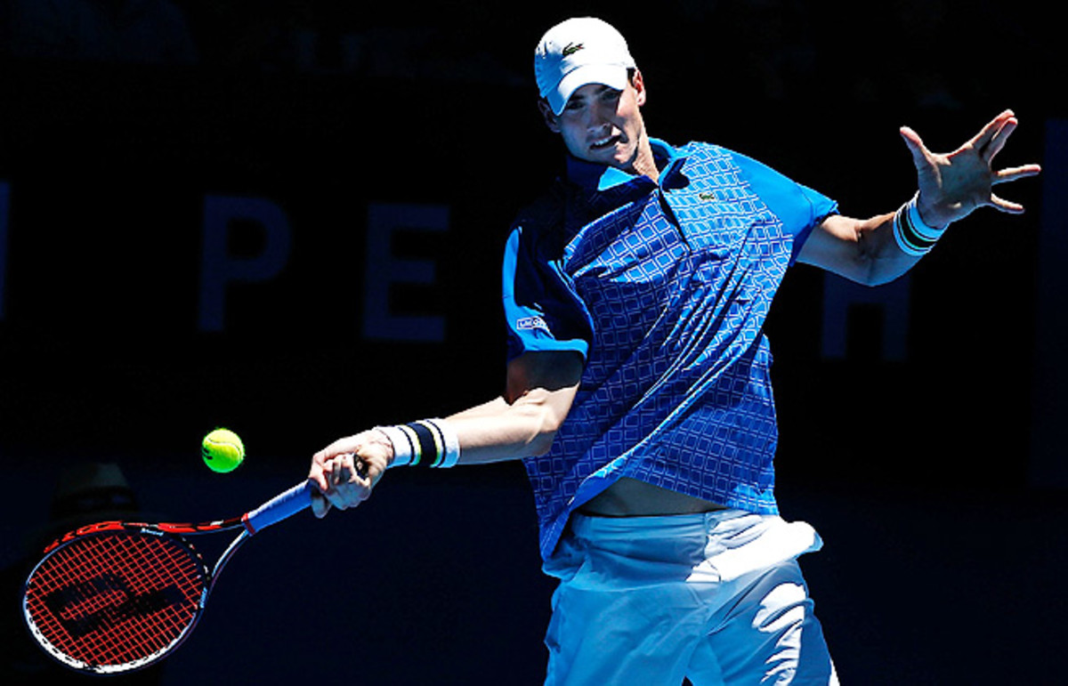 John Isner and Sloane Stephens virtually ended Spain's chances in international mixed team competition.