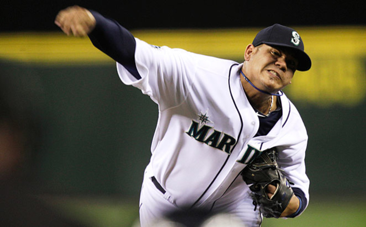 Felix Hernandez's contract is the richest ever given to a pitcher.