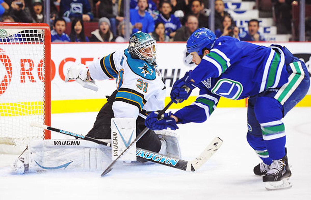 San Jose Sharks' Antti Niemi