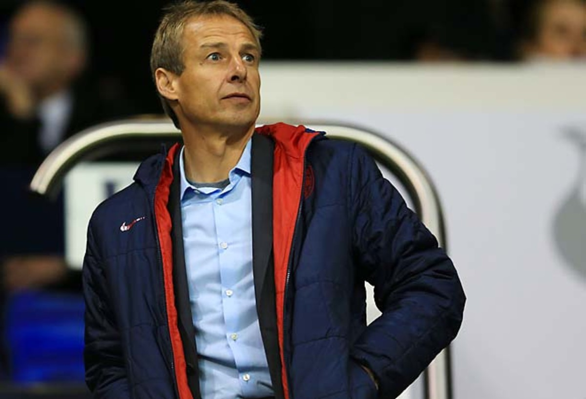 Jurgen Klinsmann and the U.S. have zero points after losing at Honduras in the opener.