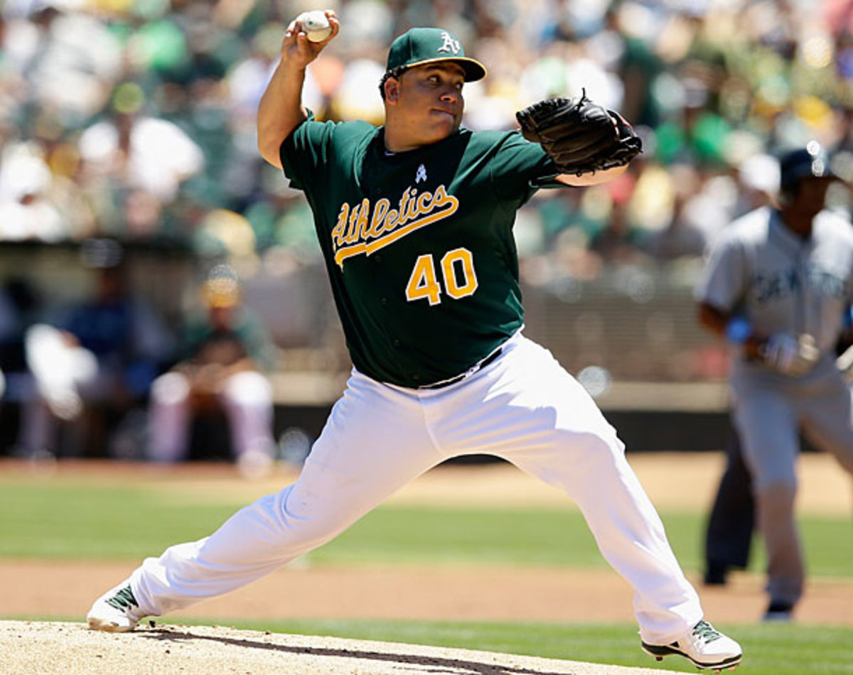 Bartolo Colon, A's