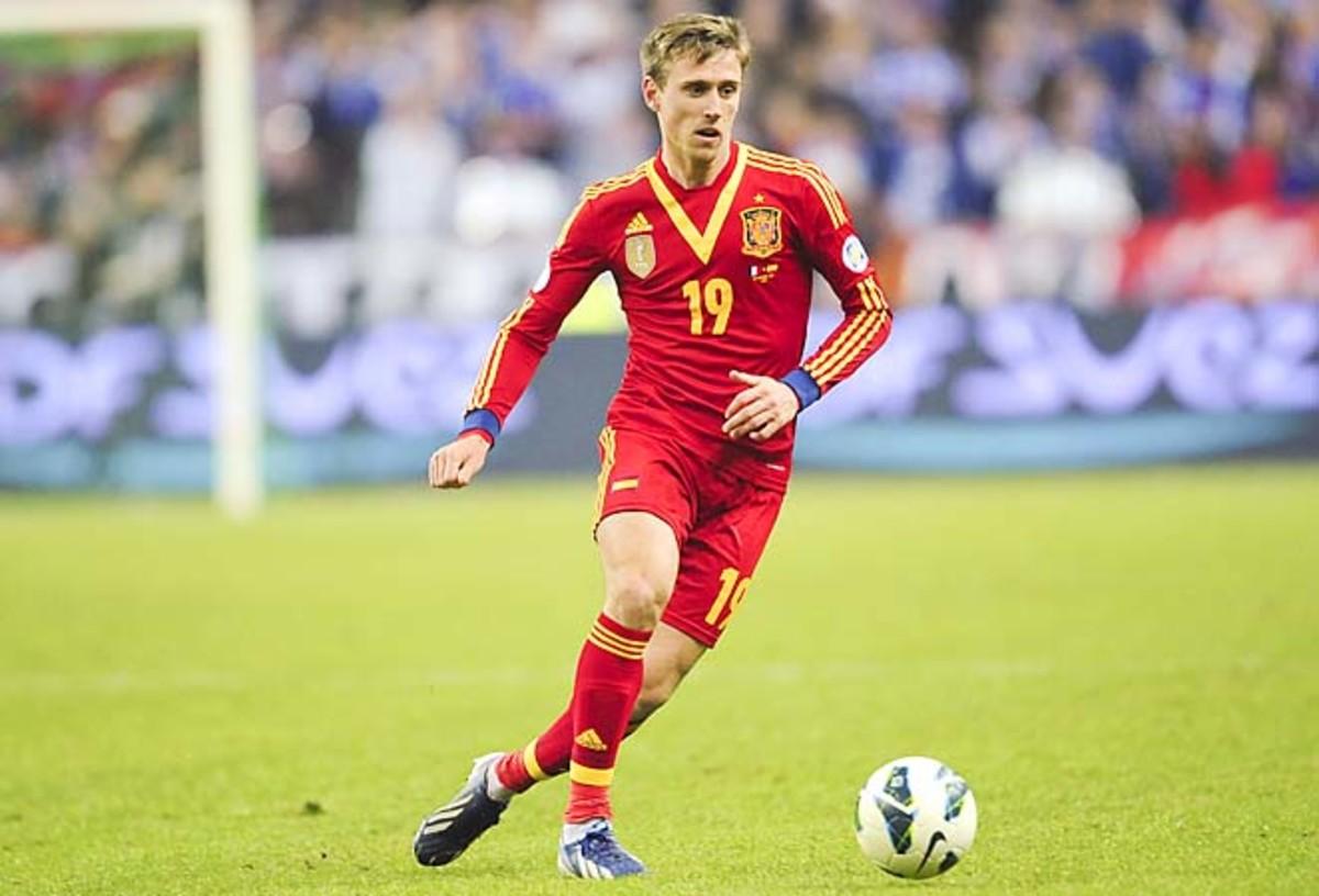 Nacho Monreal impressed starting for Jordi Alba at left back in Spain's 1-0 victory.