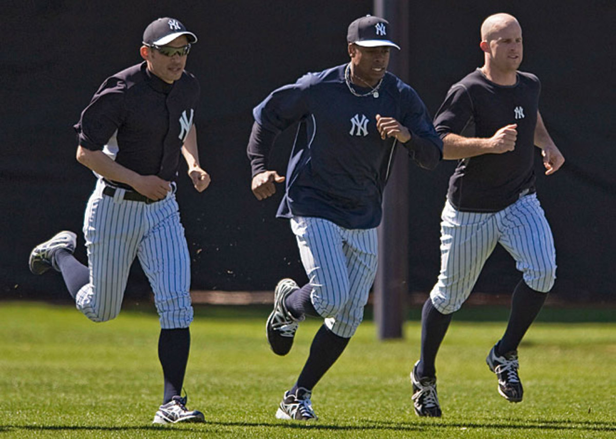 Ichiro Suzuki, Curtis Granderson and Brett Gardner are likely to comprise New York's starting outfield.