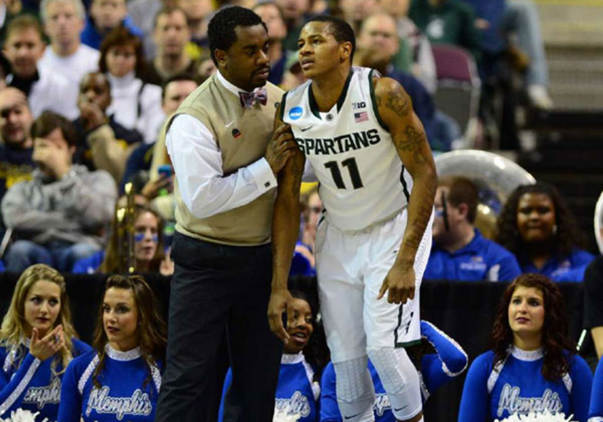 Keith Appling was in pain after(John Biever/SI)