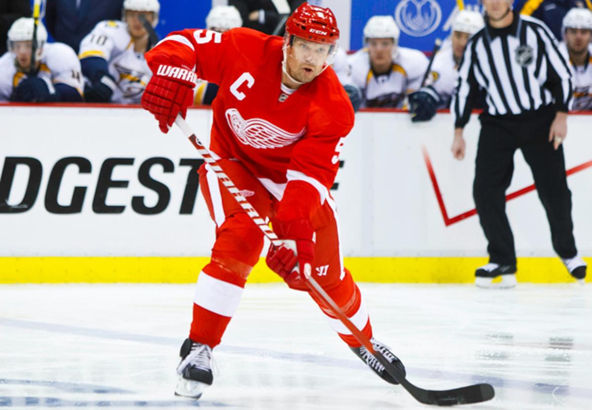Red Wings defenseman Nicklas Lidstrom retired after last season after 20 seasons in the NHL.