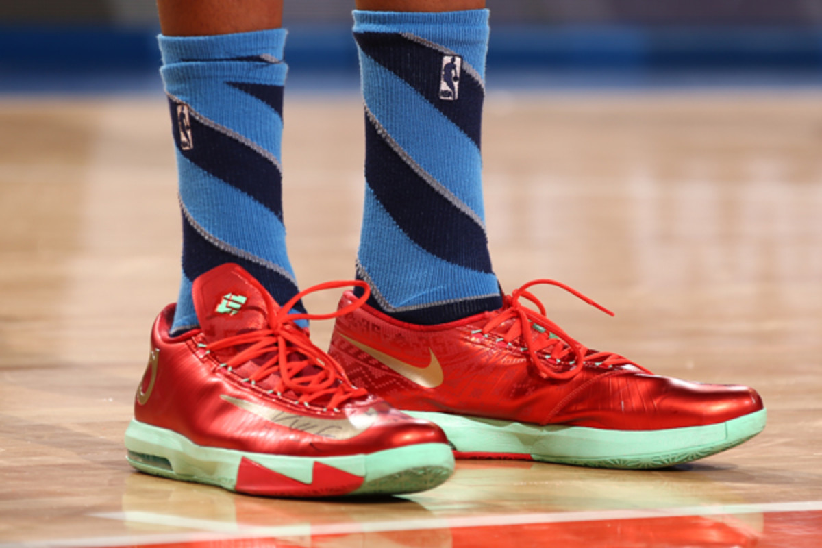 Kevin Durant, Thunder: Nike. (Nathaniel S. Butler/Getty Images)