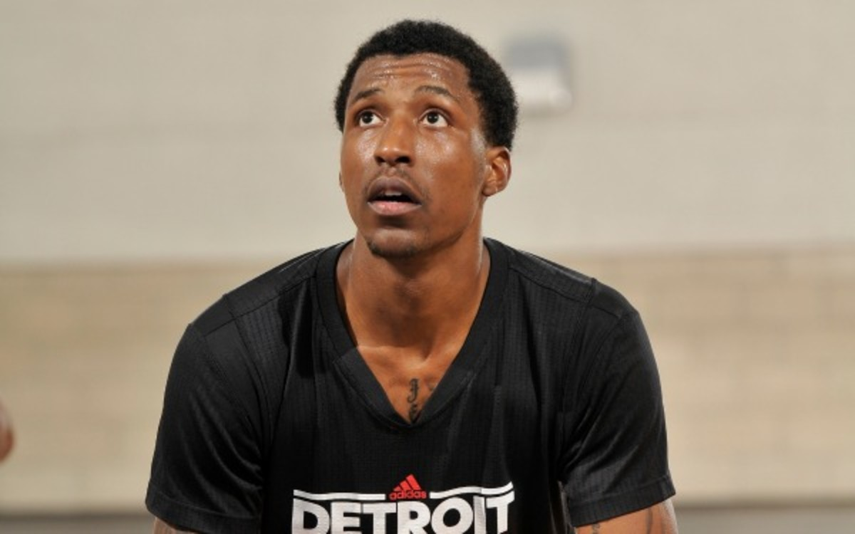 The Pistons signed Kentavious Caldwell-Pope (pictured) and Tony Mitchell to deals. (Fernando Medina/Getty Images)