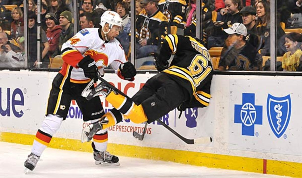 The speed of the NHL game may now be making most hits potentially dangerous.