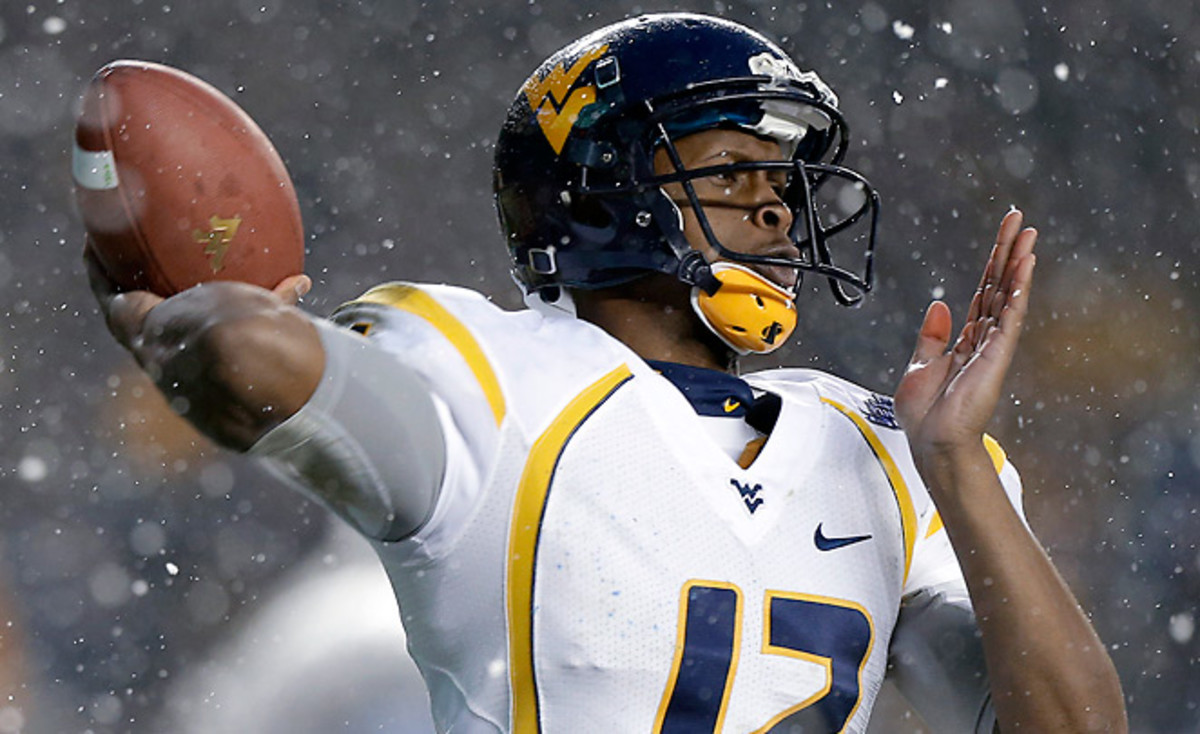 Geno Smith isn't a perfect prospect, but it looks more and more likely he'll be the only first-round QB.