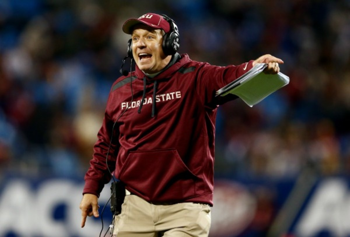 Jimbo Fisher has been rumored to be a candidate for the Texas job. (Streeter Lecka/Getty Images)