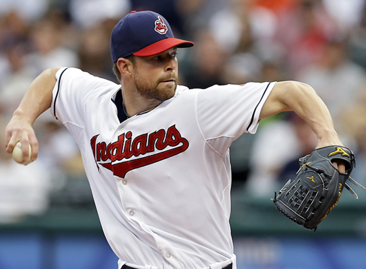 Corey Kluber is one of the Indians' starters who has positively contributed. [AP]