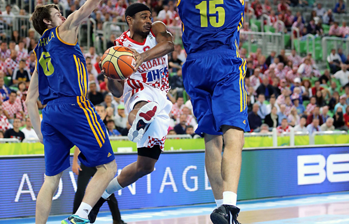 Dontaye Draper sparked Croatia to a win over Ukraine and to a spot in the Euro semifinals.