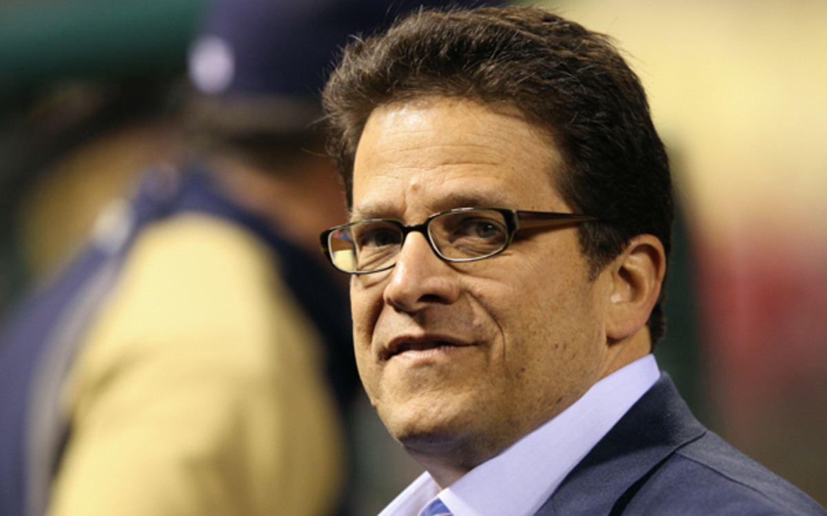 Owner Mark Attanasio has provided the Brewers a mid-level budget despite playing in the MLB's smallest market. (Jamie Squire/Getty Images)
