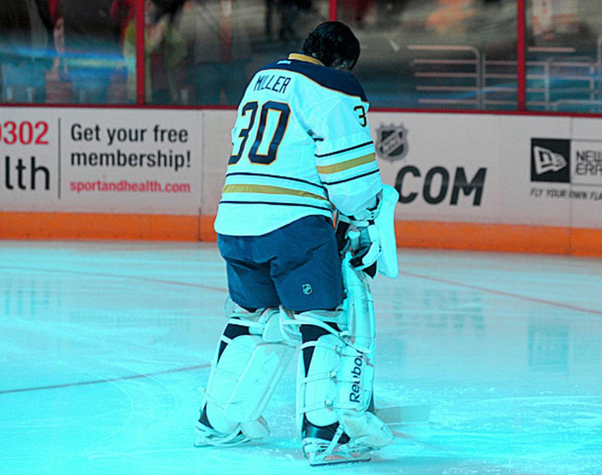 Ryan Miller of the Buffalo Sabres