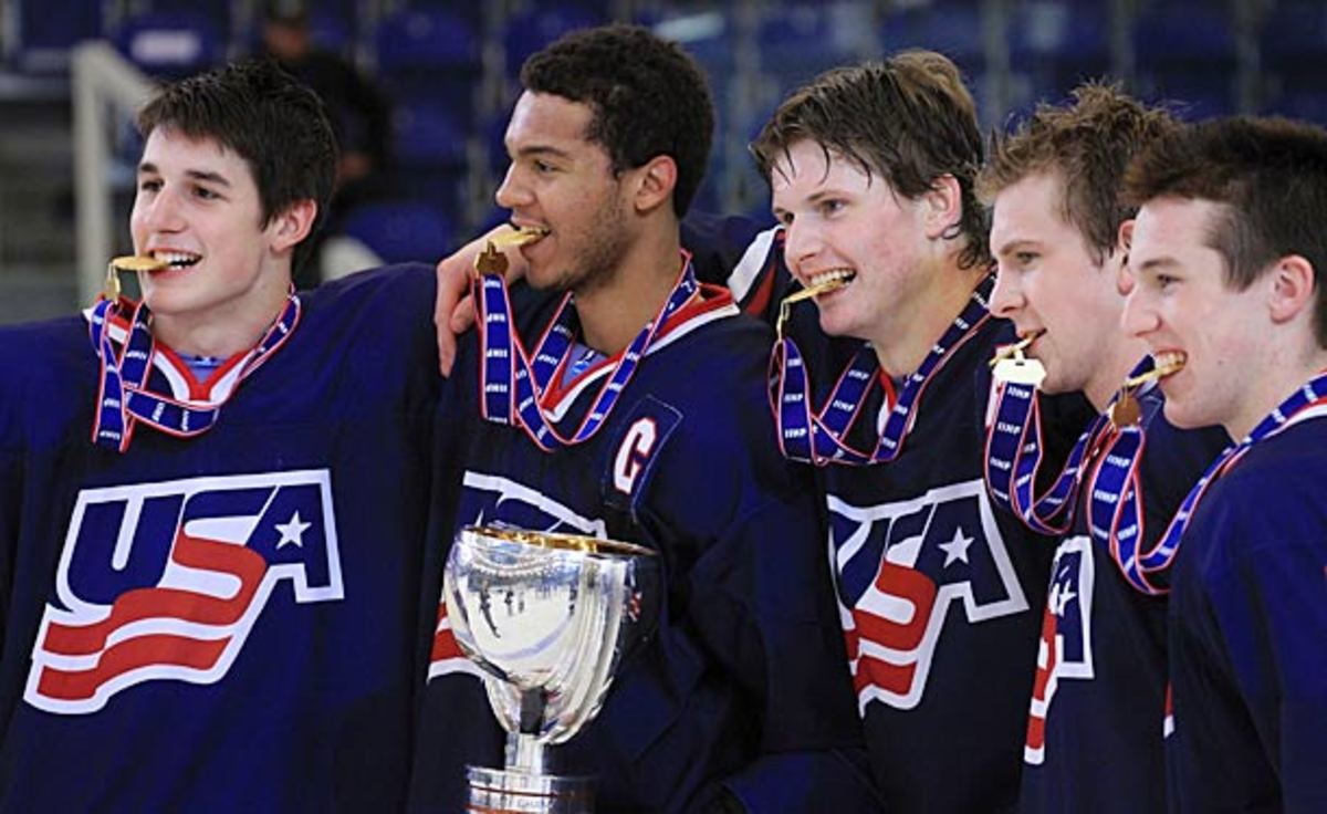 Seth Jones was invited to Team USA's 2014 Sochi Olympics hockey orientation camp.