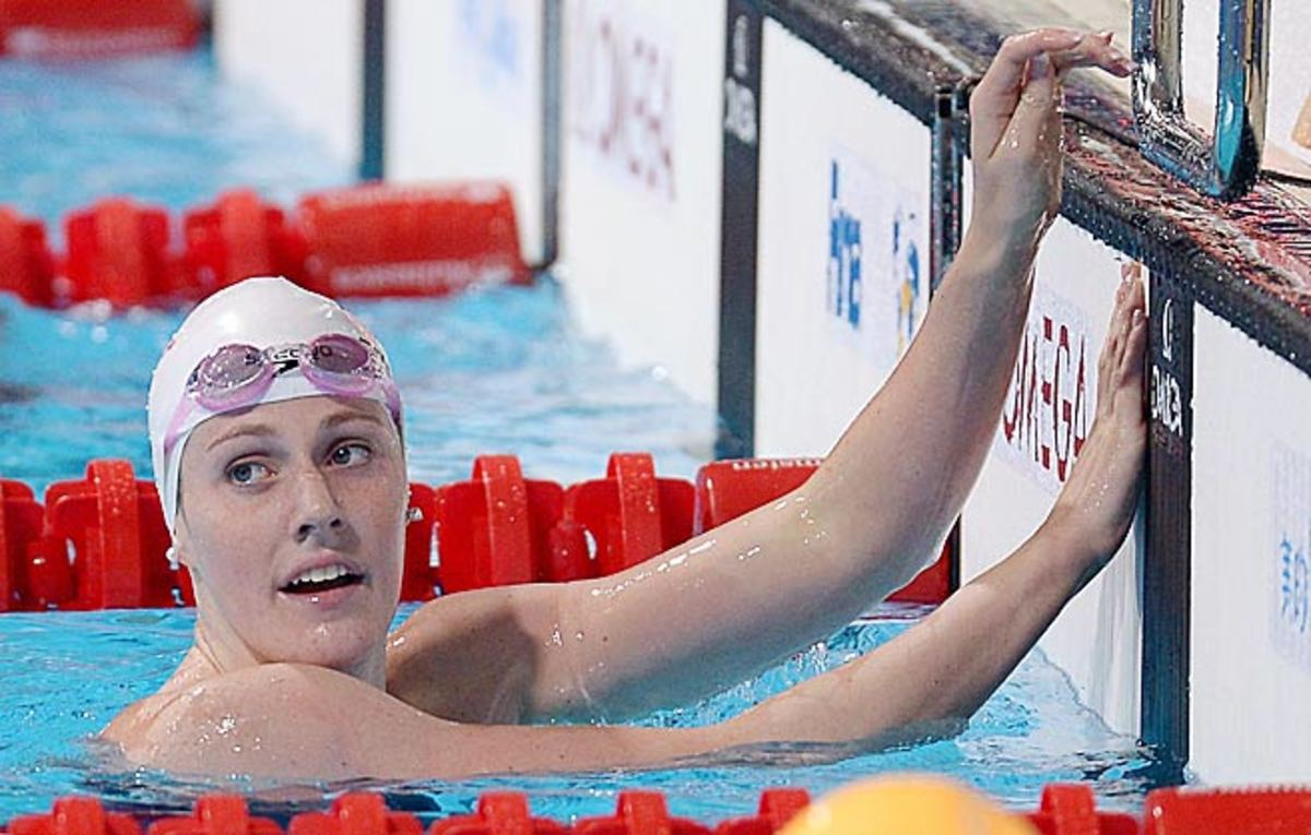 Missy Franklin is competing in a Phelpsian eight events at the world championships.
