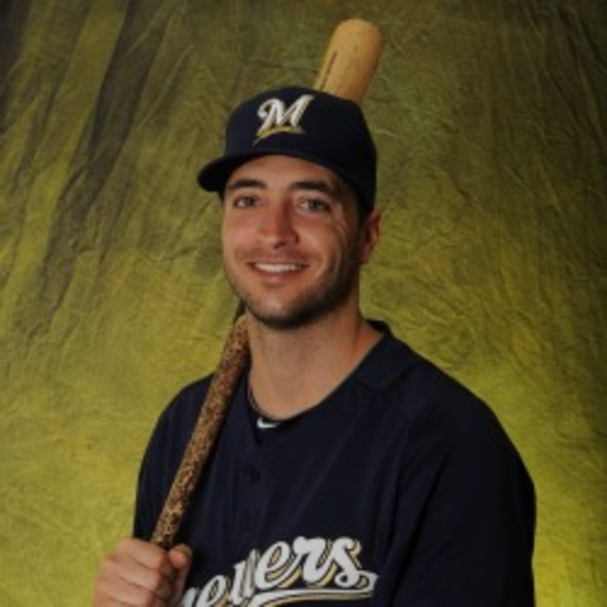 MLB says it is not targeting Brewers slugger Ryan Braun for use of PEDs. (Rich Pilling/Getty Images)
