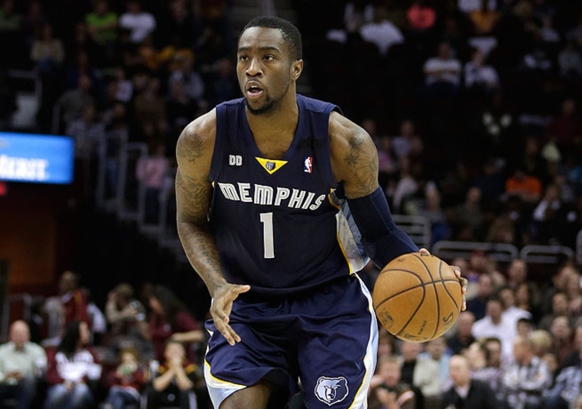 After being selected in the first round, Tony Wroten saw limited time with Memphis in 2012.