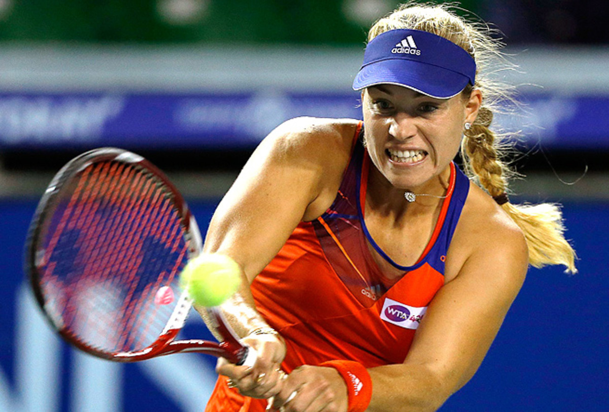 Angelique Kerber dropped only one game en route to beating Maria-Teresa Torro-Flor at the Pan Pacific Open.