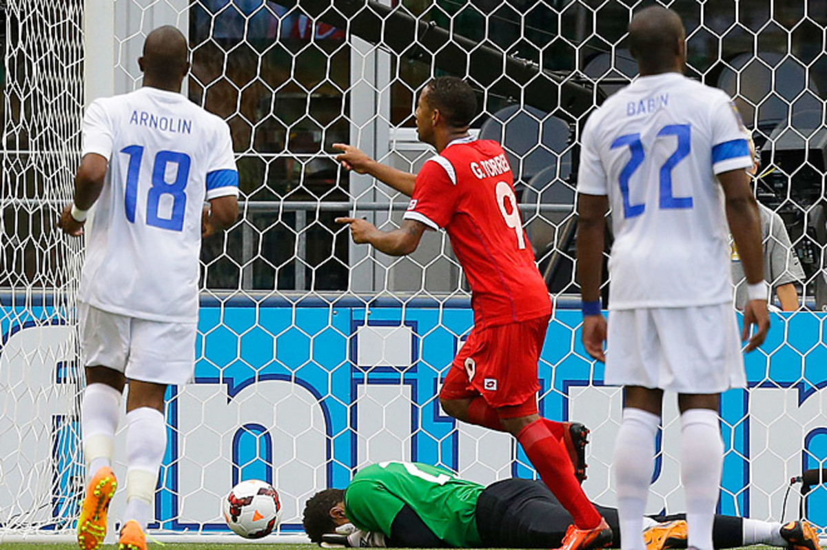 Gabriel Torres scored on a penalty in the 85th minute to give Panama the 1-0 win over Martinique.