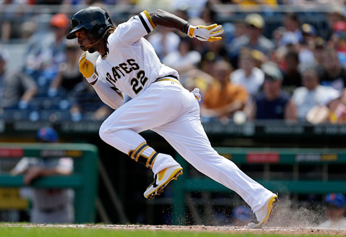 Andrew McCutchen has helped the Pirates to the best winning percentage in baseball.