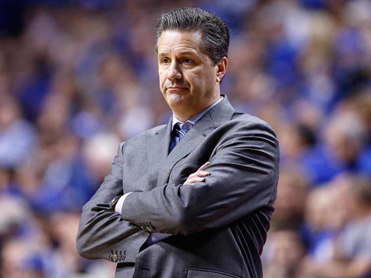The 2014-15 season could be a challenge for John Calipari if the Wildcats can't land more top recruits. (Joe Robbins/Getty Images)