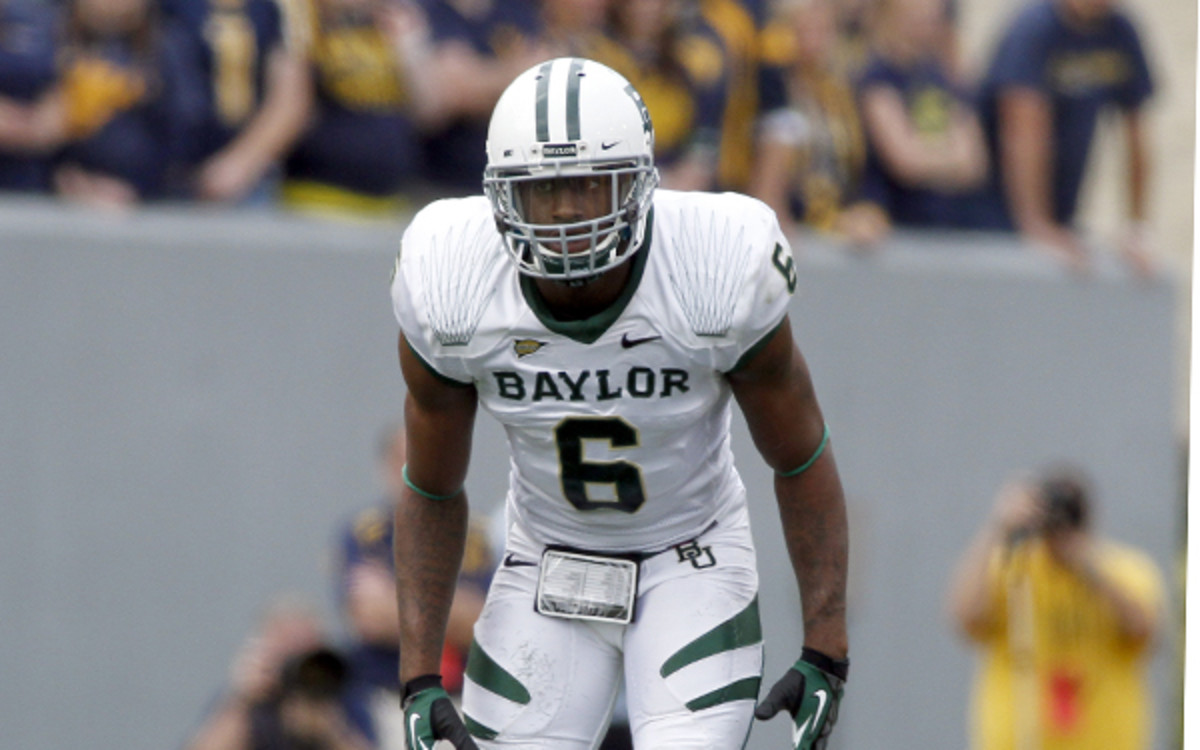 Baylor safety Ahmad Dixon was reportedly arrested and charged with assault. (Justin K. Aller/Getty Images)