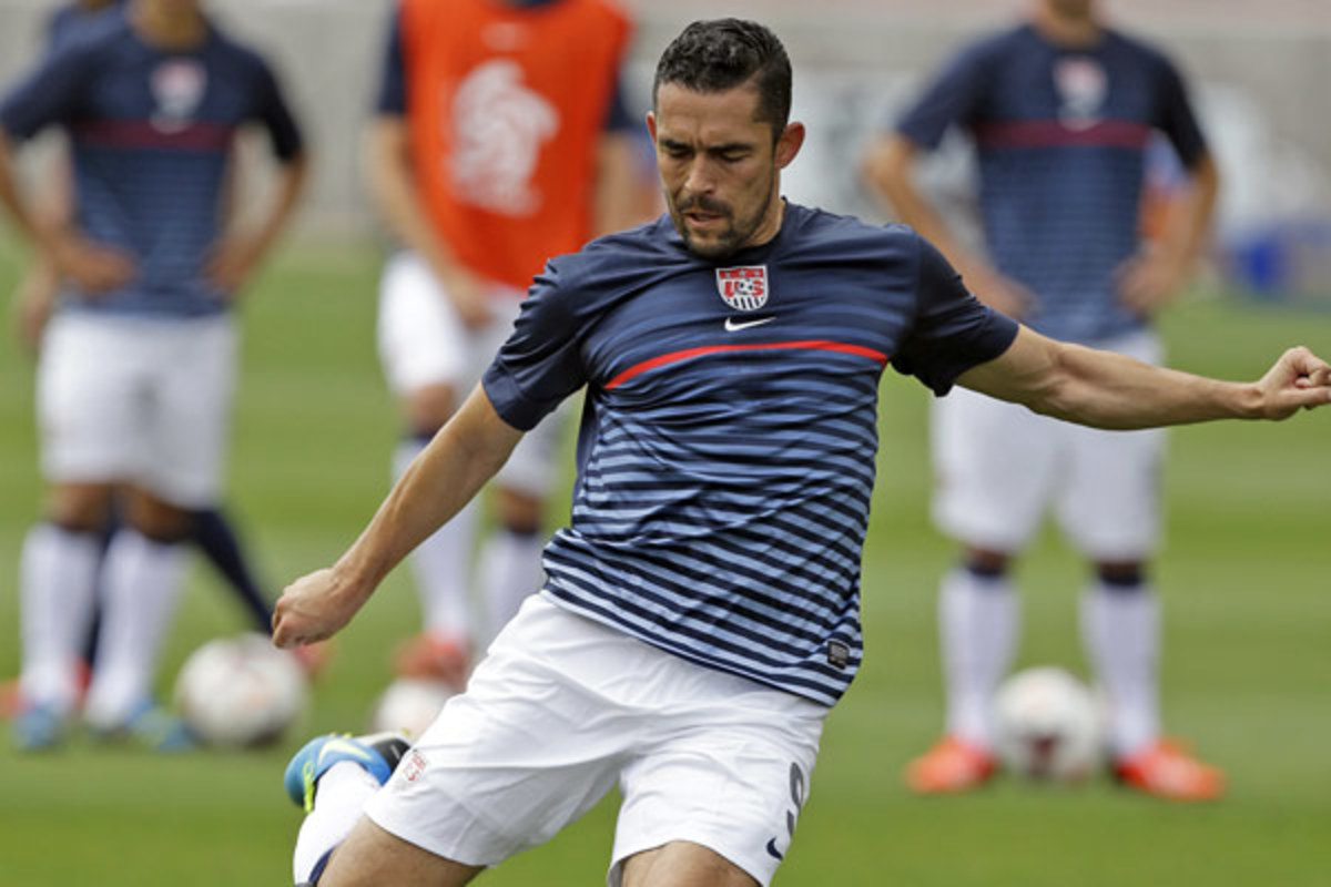 Herculez Gomez has not played for the U.S. since a knee injury forced him out of the Gold Cup in July. (AP)
