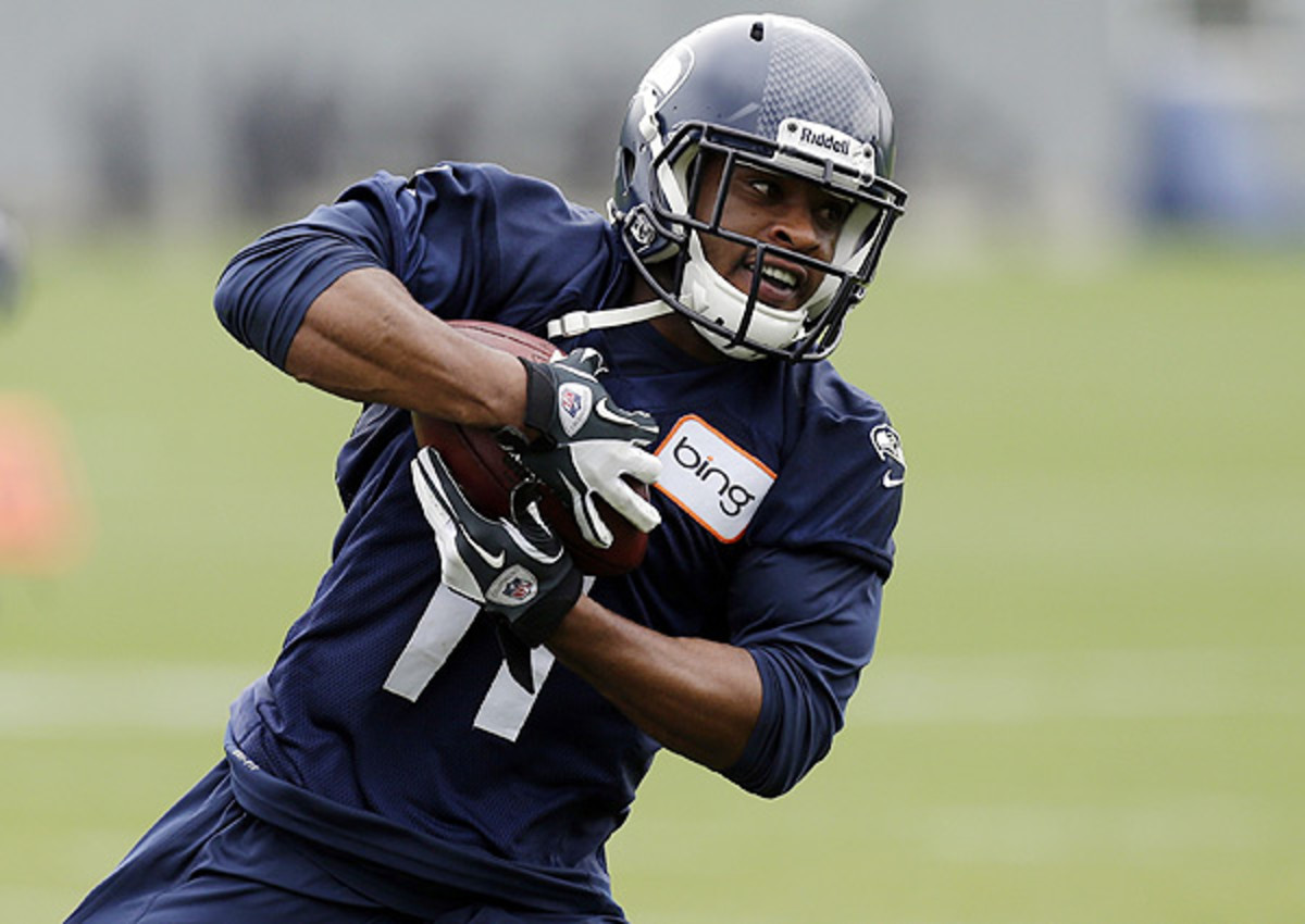 Percy Harvin was expected to miss 3-4 months after hip surgery. He thinks he can return sooner.