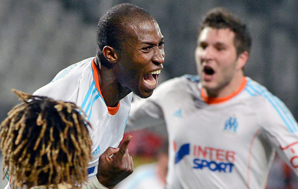 Rod Fanni got the one goal that counted in injury time as Marseille emerged victorious.