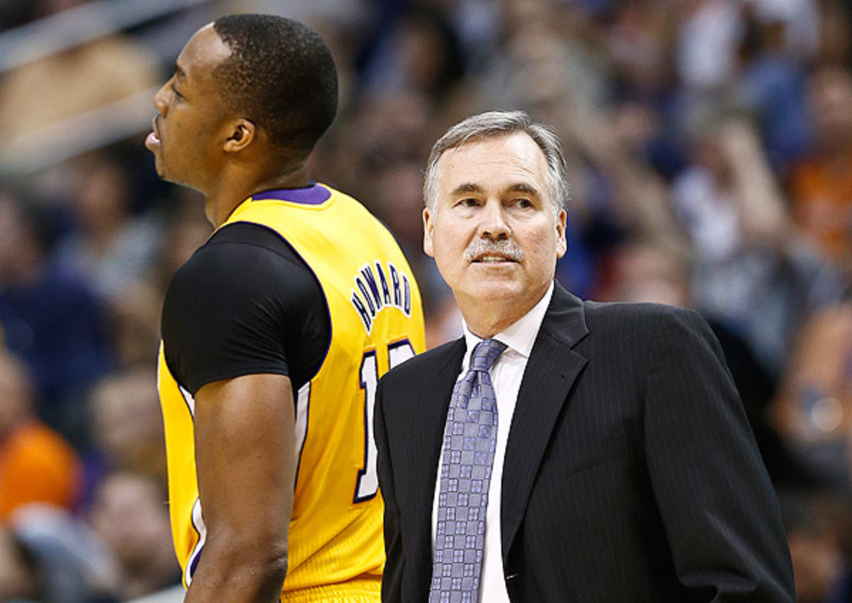 Dwight Howard and Mike D'Antoni failed to see eye-to-eye in Los Angeles.