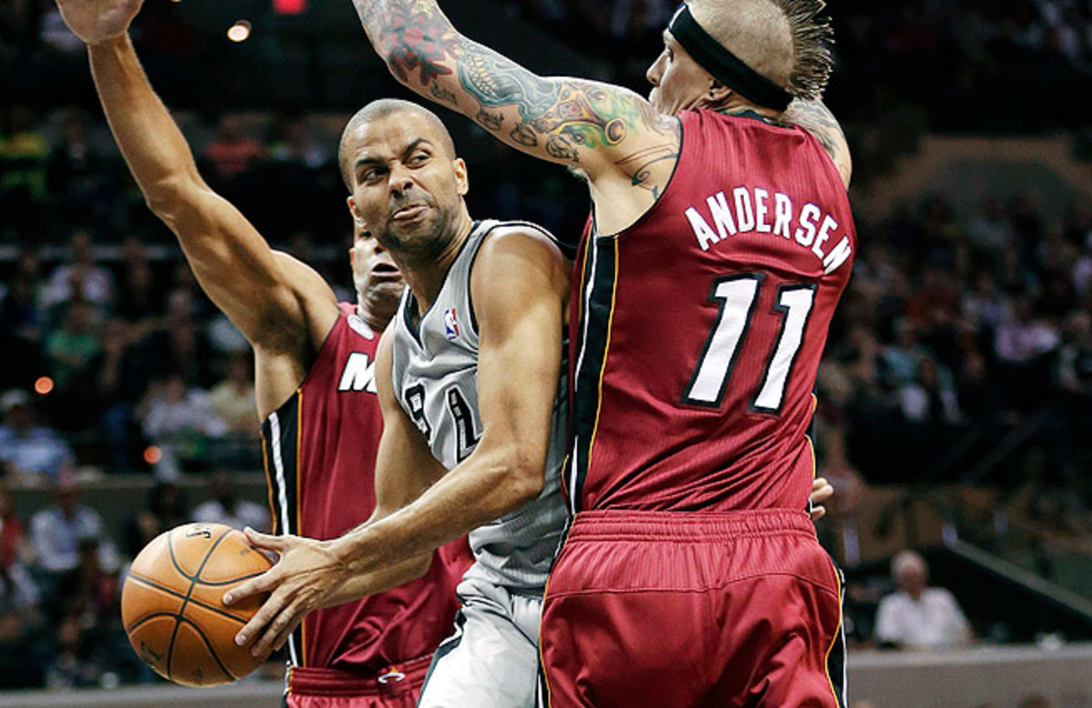 Tony Parker is averaging 23 points, 7.2 assists and 1.2 steals in the postseason.