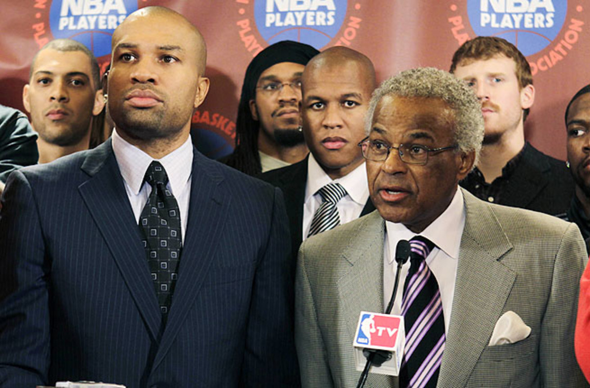 Billy Hunter (right), was ousted as executive director of the NBPA in February in a unanimous vote.