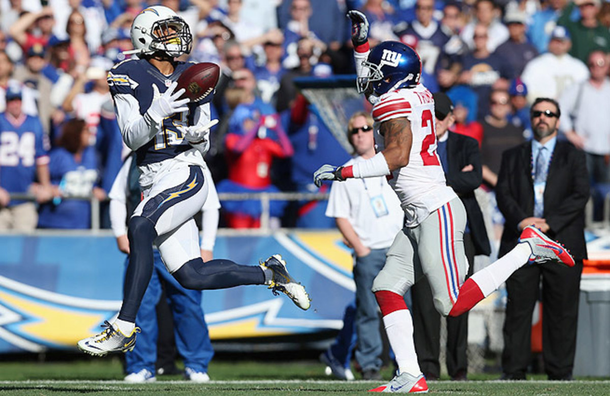 A third-round pick in April's draft, Keenan Allen has developed into Philip Rivers' No. 1 weapon.
